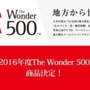 パシーマがクールジャパン事業の「The Wonder 500」に選定。